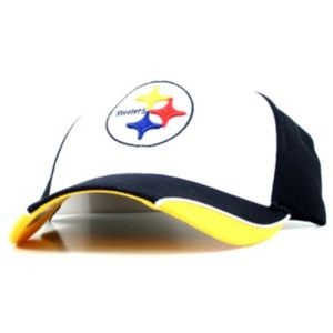 Pittsburgh Steelers Strapback Hat Wave Style NWT